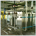 Skid Mounted Pasteurization Plant 10KL