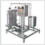 Skid Mounted Pasteurizer Plant 500 LPH